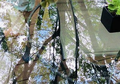 Photograph - Glimpses - Glass Legs by Felipe Adan Lerma