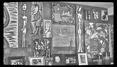 Glimpses Of Where Art Lives 4 Art Print
