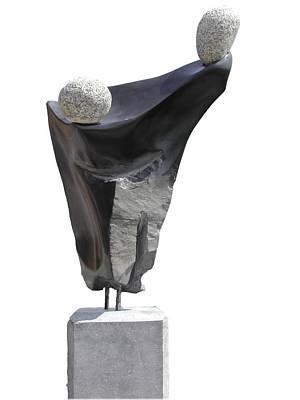 Glisando Art Print by Jos Hamann