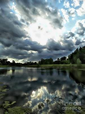 Photograph - Glissing Glow by Scott B Bennett