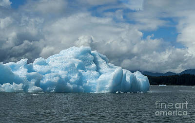 Photograph - Glistening Iceberg by Louise Magno