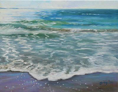 Painting - Glistening Surf by Julie Brayton