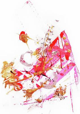 Creative Drawing - Glittering  2 by Prar Kulasekara