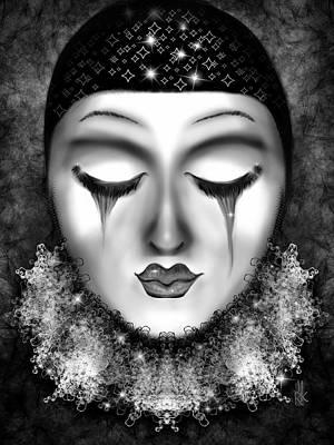 Digital Art - Glittering by J Kinion