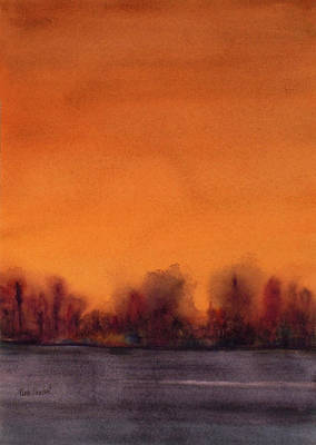 Gloaming Art Print by Renee Chastant
