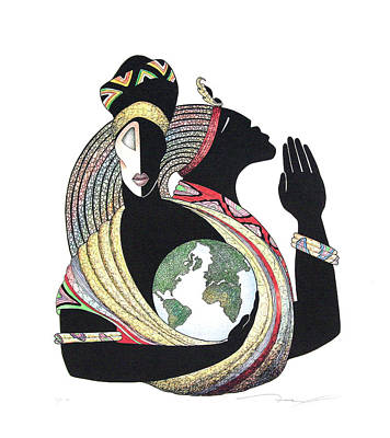 Global Love Print by Albert Fennell