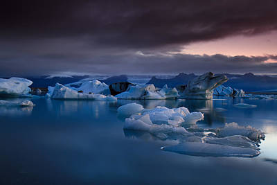Iceland Wall Art - Photograph - Global Warming by Amnon Eichelberg