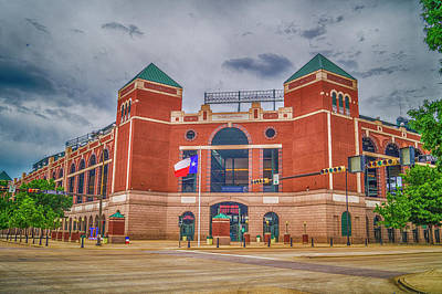 Nolan Ryan Photograph - Globe Life Park At Arlington, Texas by Craig David Morrison
