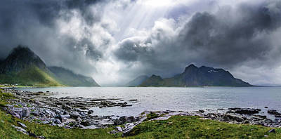 Photograph - Gloomy Day On Lofoten Islands by Dmytro Korol