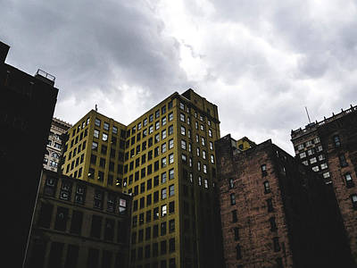 Photograph - Gloomy Days. St. Louis Architecture by Dylan Murphy