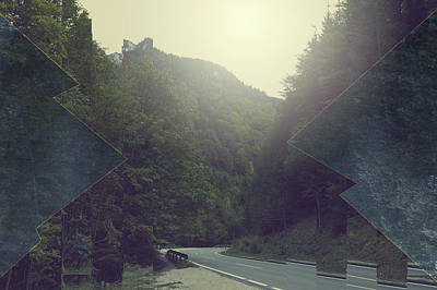 Mountain Royalty-Free and Rights-Managed Images - Gloomy Mountains by Thubakabra
