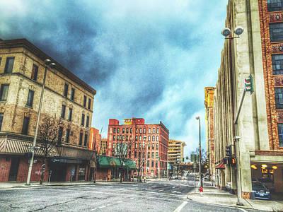 Photograph - Gloomy Spokane by Daniel Baumer