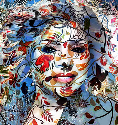 Gloria Digital Art - Gloria 1 by Yury Malkov