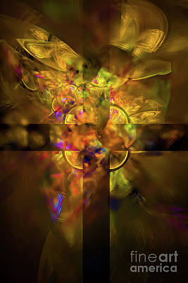 Digital Art - Glorious And Free by Olga Hamilton
