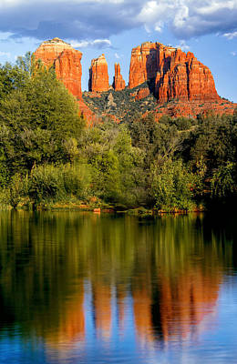 Cathedral Rock Photograph - Glorious by Aron Kearney