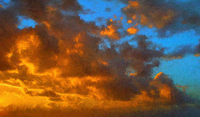 Photograph - Glorious Clouds by Dave Bosse
