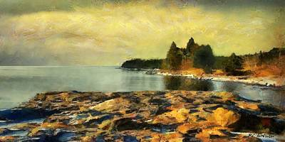 Painting - Glorious Dawn by RC deWinter
