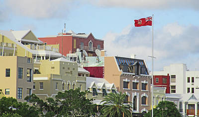 Photograph - Glorious Front Street Bermuda by Ian  MacDonald