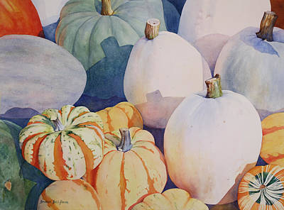 Painting - Glorious Gourds by Brenda Beck Fisher