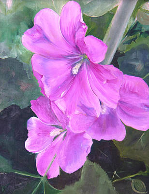 Painting - Glorious June by Nila Jane Autry