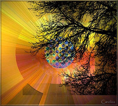 Digital Art - Glorious Morning by Carola Ann-Margret Forsberg