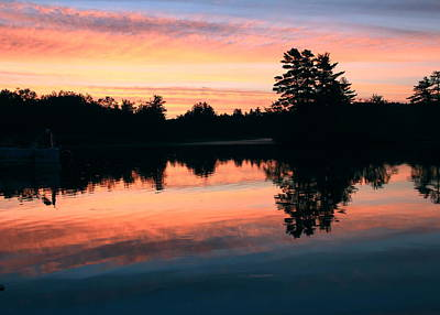 Maine Landscape Photograph - Glorious Morning by Laurie Breton