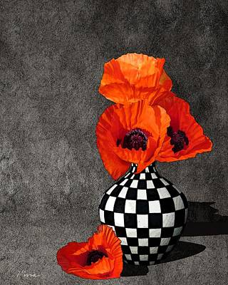 Photograph - Glorious Poppies by I'ina Van Lawick