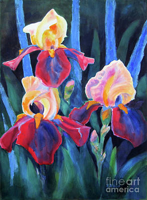 Painting - Glorious Rusties And Blue by Kathy Braud