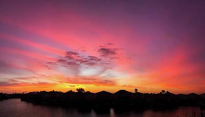 Photograph - Glorious Sunrise by Debra Martz