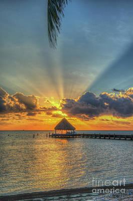Photograph - Glorious Sunrise Ray Of Sunshine by David Zanzinger