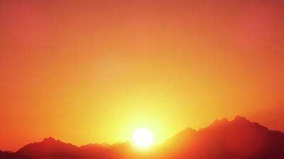Photograph - Glorious Sunset by Johanna Hurmerinta