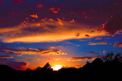 Photograph - Glorious Sunset by Roger Bester