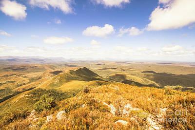 Mountainous Photograph - Glorious Tasmania by Jorgo Photography - Wall Art Gallery