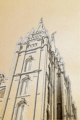 Lds Painting - Glory And Majesty by Greg Collins