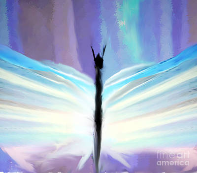 Painting - Glory Butterfly by Belinda Threeths