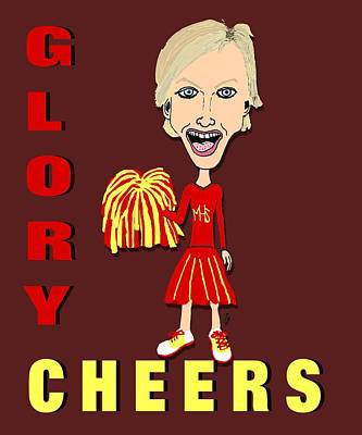 Drawing - Glory Cheers by Pharris Art