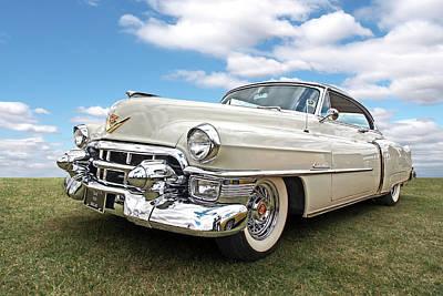 Photograph - Glory Days - '53 Cadillac by Gill Billington