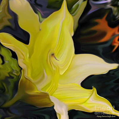 Art Print featuring the painting Glory II by Patricia Griffin Brett