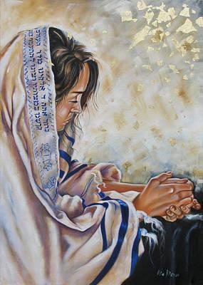 Profetic Painting - Glory In His Name by Ilse Kleyn