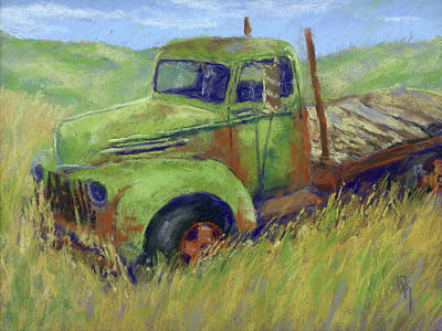 Truck Painting - Glory Passed by David King