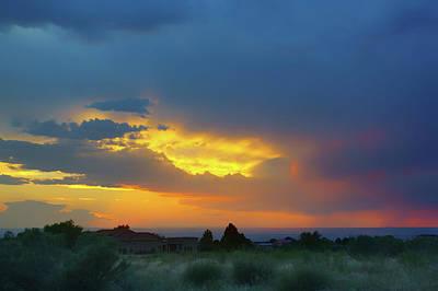 Photograph - Glory Rays - Albuquerque by Nikolyn McDonald