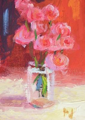 Glory Roses Art Print by Philip Jones
