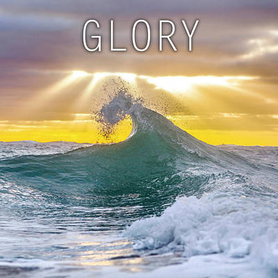 Element Photograph - Glory. by Sean Davey