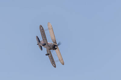 Photograph - Gloster Gladiator  by Gary Eason