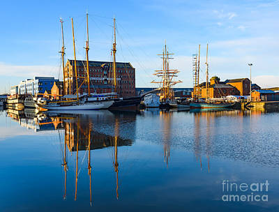 Gloucester Docks Art Print