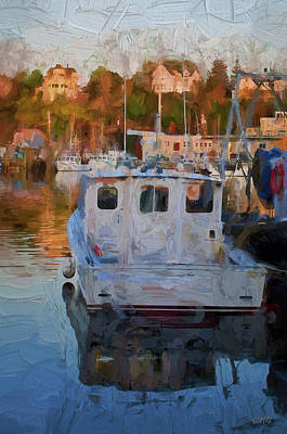 Photograph - Gloucester Harbor II  by David Gordon