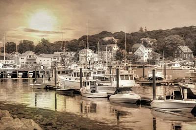 Photograph - Gloucester Harbor by Lori Deiter