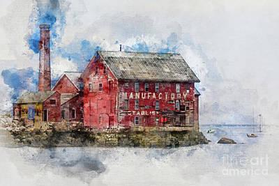 Photograph - Gloucester Manufactory by Doug Sturgess