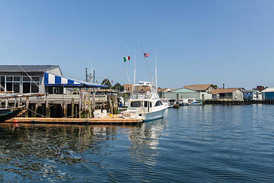 Photograph - Gloucester Massachusetts Waterfront by Brian MacLean