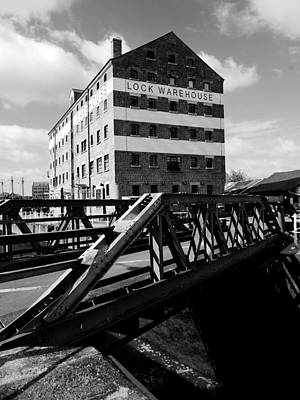 Photograph - Gloucester Warehouse by Lexa Harpell